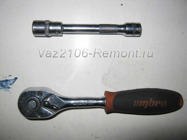 инструмент для замены замка багажника на ВАЗ 2106