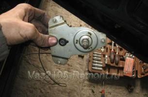 механизм стеклоподъемника на ВАЗ 2106 - замена