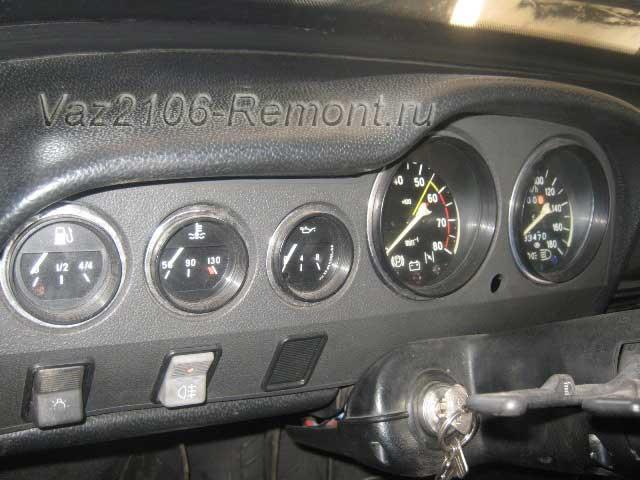 не работают все приборы на панели ВАЗ 2106