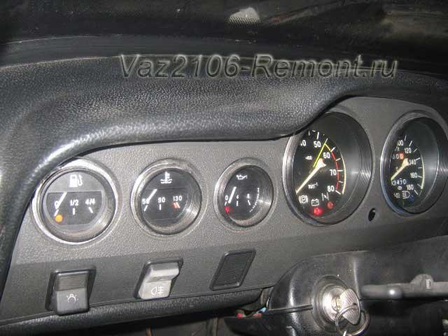 почему не работают датчики и приборы на ВАЗ 2106