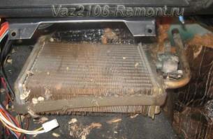 замена радиатора печки на ВАЗ 2106