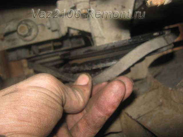 замена ремня генератора на ВАЗ 2106 своими руками