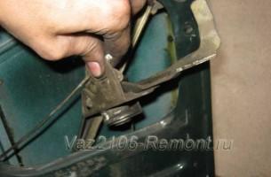 замена замка двери на ВАЗ 2106