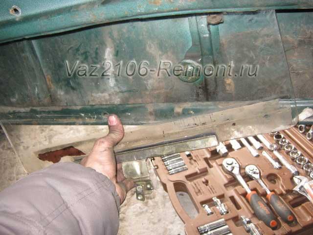 замена стекла передней двери на ВАЗ 2106