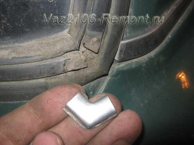вынимаем треугольник стекла на ВАЗ 2106