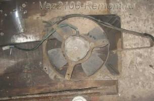 вентилятор охлаждения радиатора на ВАЗ 2106 купить