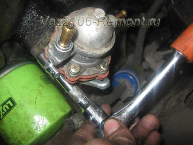 замена бензонасоса на ВАЗ 2106