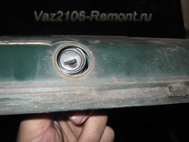 замена замка багажника на ВАЗ 2106