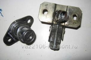 конструкция замка багажника на ВАЗ 2106