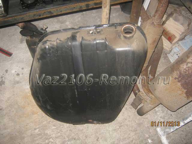 замена топливного бака на ВАЗ 2106