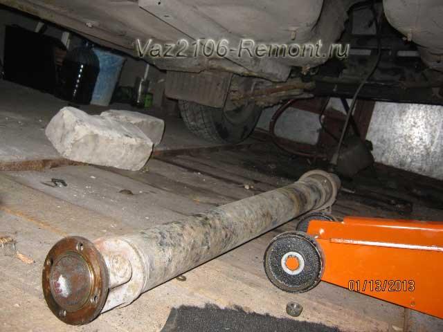 замена кардана на ВАЗ 2106