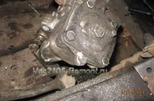 замена рулевой колонки на ВАЗ 2106