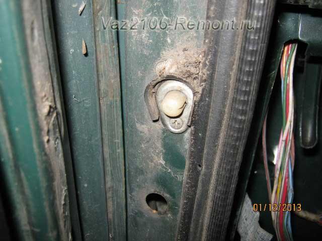 Замена концевиков дверей на ВАЗ 2106