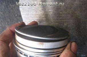 замена поршневых колец на ВАЗ 2106