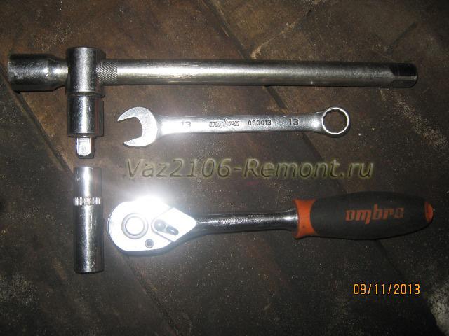 инструмент для замены штанги стабилизатора на ВАЗ 2106