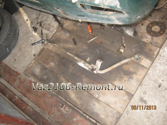 замена штанги стабилизатора на ВАЗ 2106