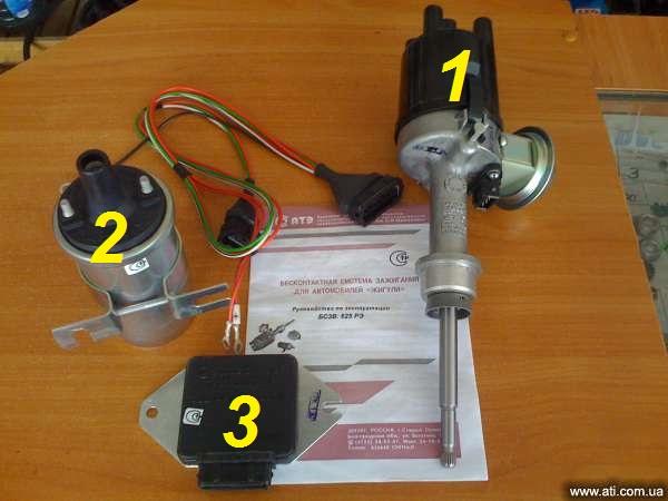 комплект электронного зажигания на ВАЗ 2106