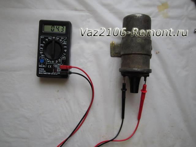 проверка катушки зажигания на ВАЗ 2106