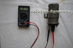 как проверить катушку зажигания на ВАЗ 2106