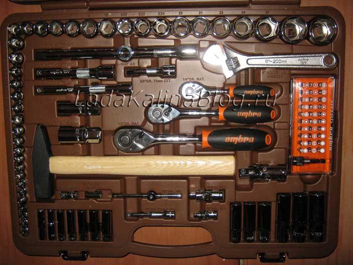 набор инструментов Ombra отзывы