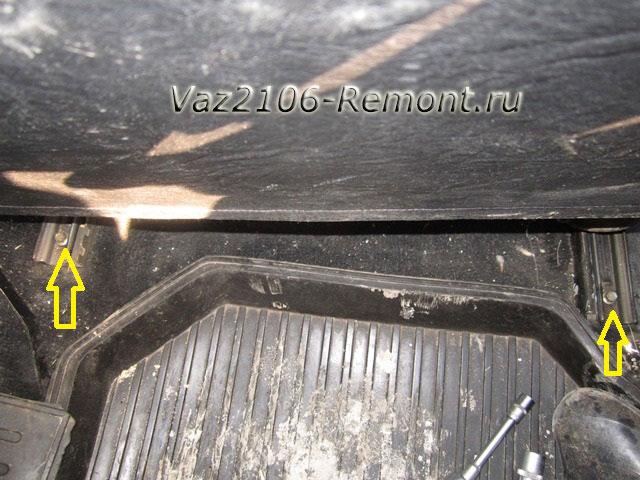 крепление передних сидений на ВАЗ 2106