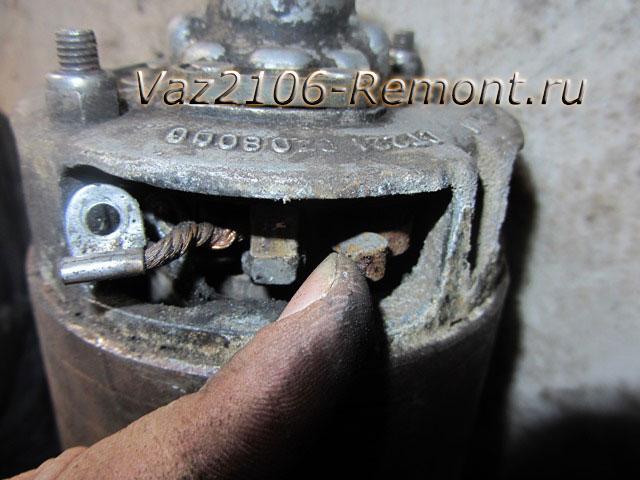12314 - Чистка пятаков на стартере