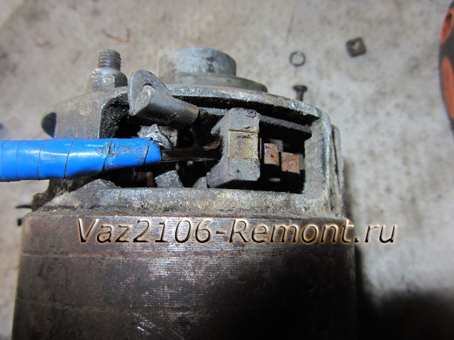 22121211212 - Чистка пятаков на стартере