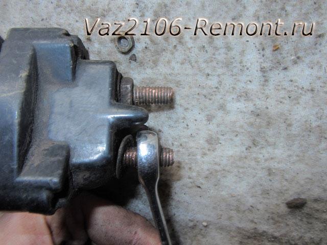 2g vt - Чистка пятаков на стартере