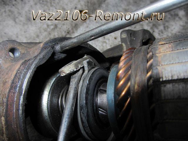 345 - Чистка пятаков на стартере