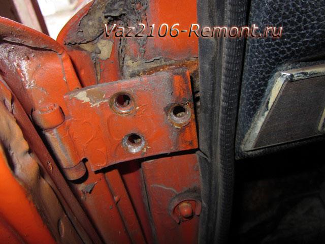 замена дверей на ВАЗ 2106 своими руками