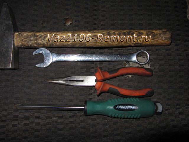 инструмент для замены дверей на ВАЗ 2106