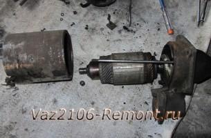 разборка стартера на ВАЗ 2101-2107