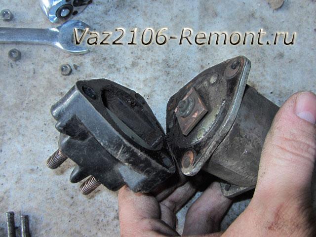 как разобрать втягивающее реле ВАЗ 2106