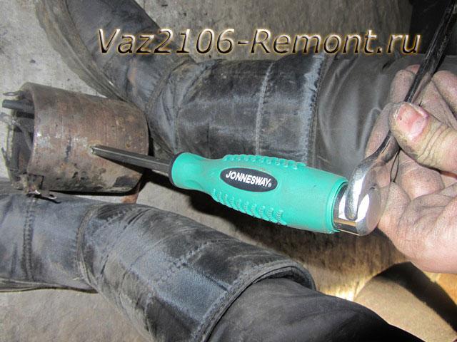 замена обмотки стартера на ВАЗ 2106