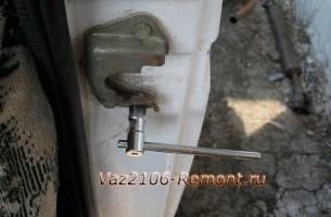регулировка дверных замков на ВАЗ 2106