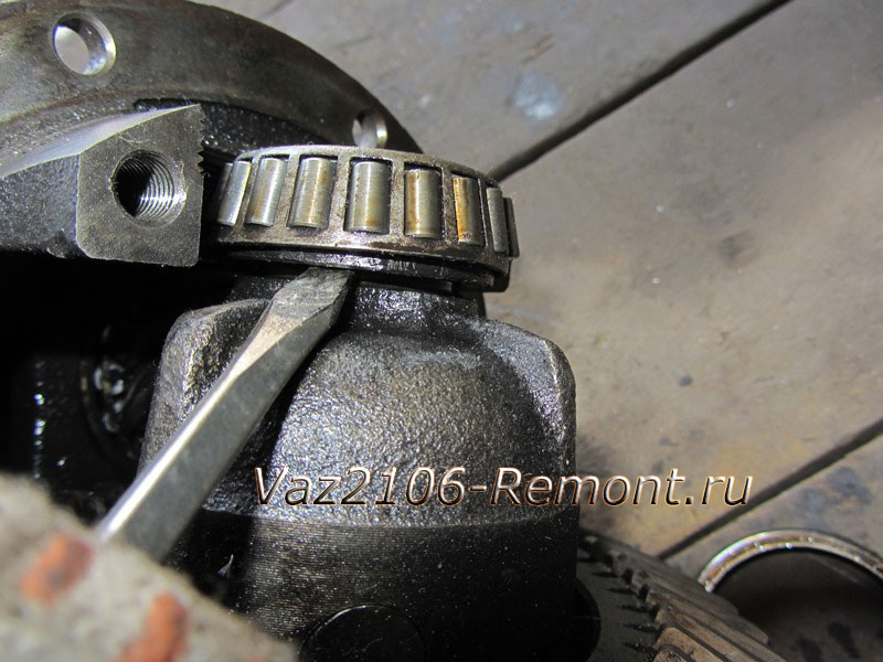 замена подшипника редуктора на ВАЗ 2106