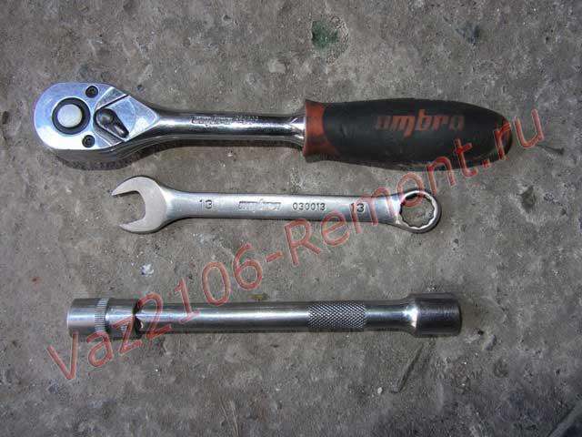 инструмент для замены сцепления на ВАЗ 2106