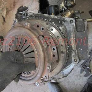 замена корзины сцепления ВАЗ 2106