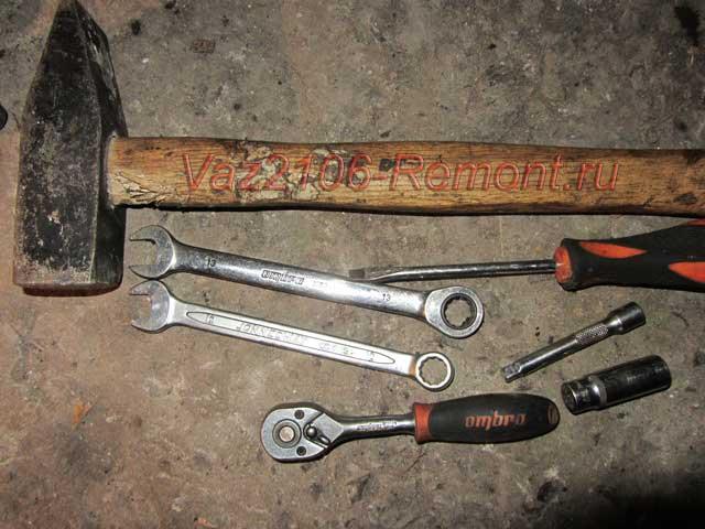 инструмент для замены редуктора на ВАЗ 2106