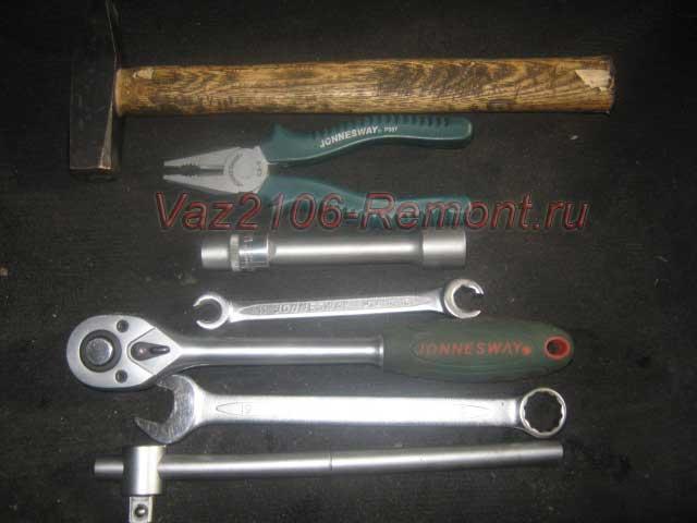 инструмент для снятия КПП на ВАЗ 2106