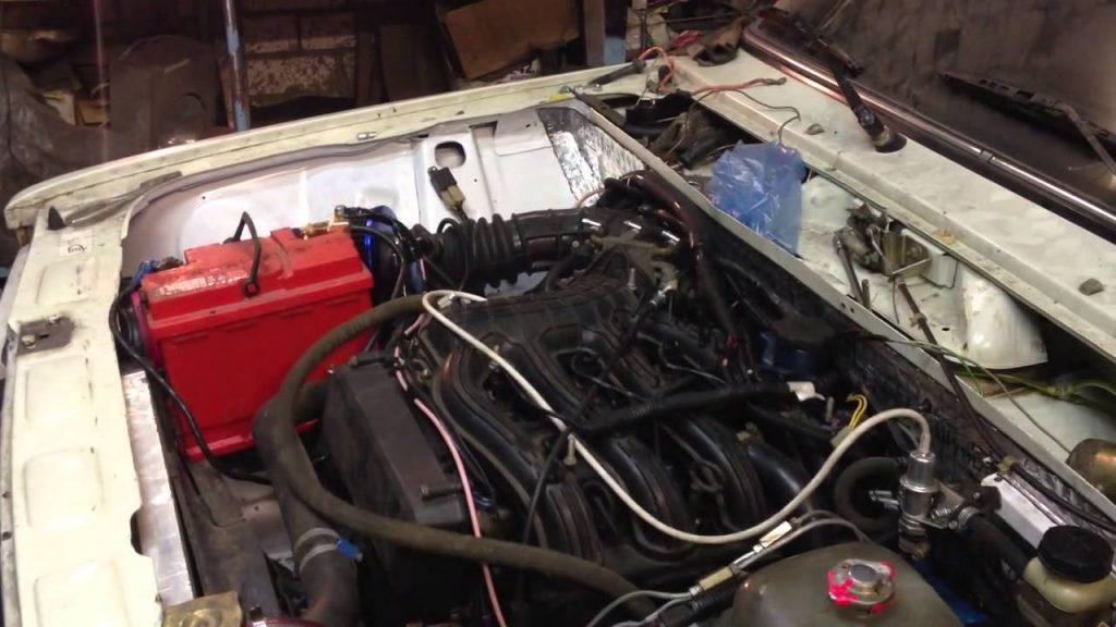 двигатель от Приоры на ВАЗ 2106