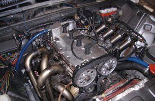 установка двигателя от Приоры на 2106 и 2107