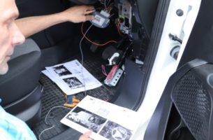 установка автосигнализации