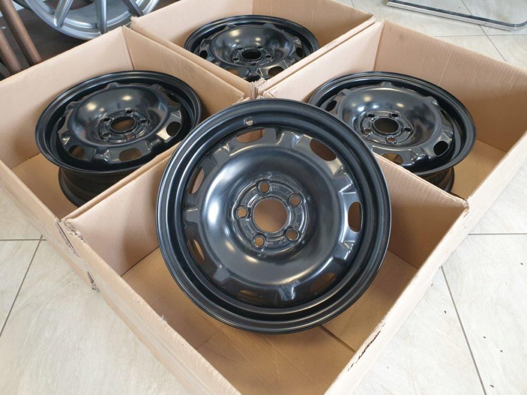 стальные штампованные колесные диски
