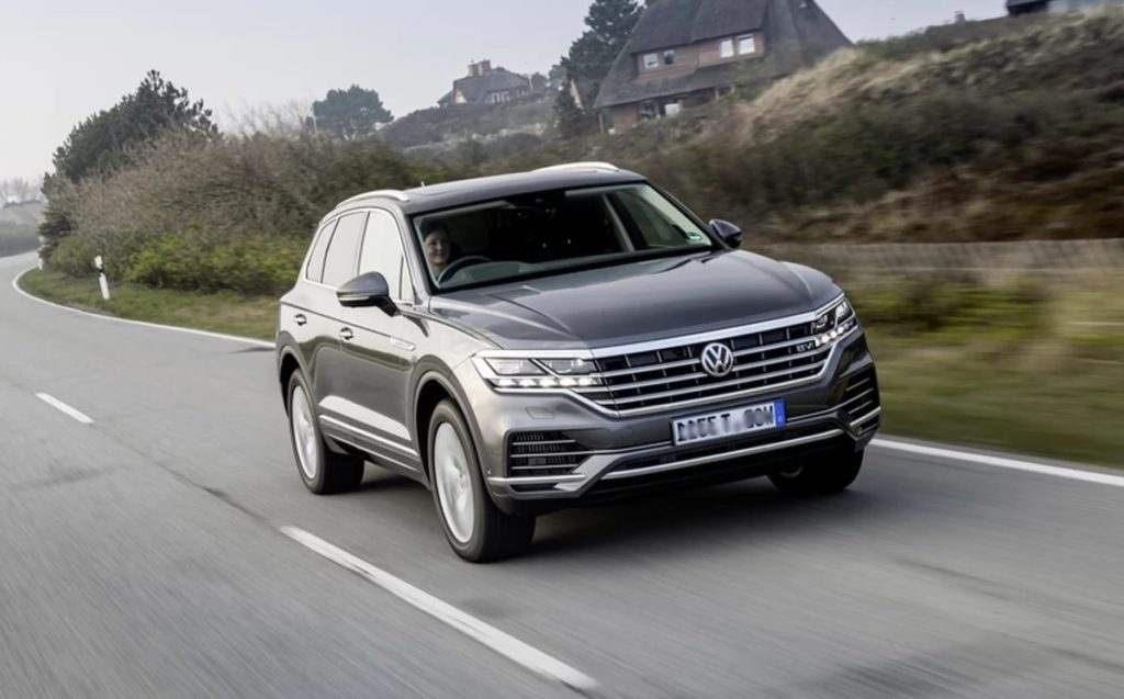 купить новый Volkswagen Touareg