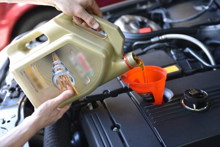моторное масло параметры