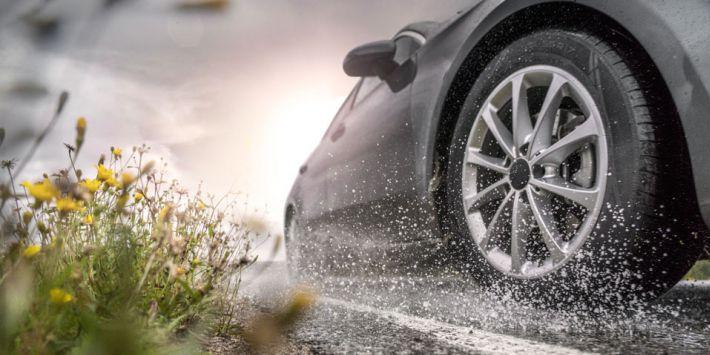 Аквапланирование летние шины