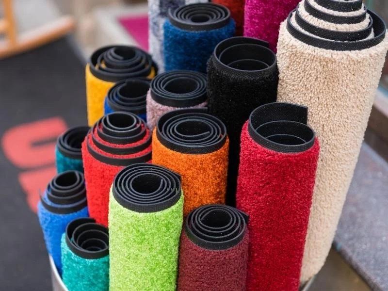 грязезащитные резиновые коврики в рулонах