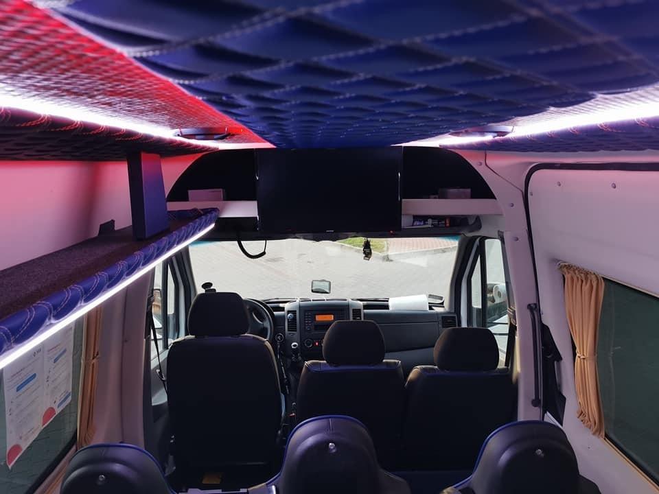 тюнинг салона микроавтобуса