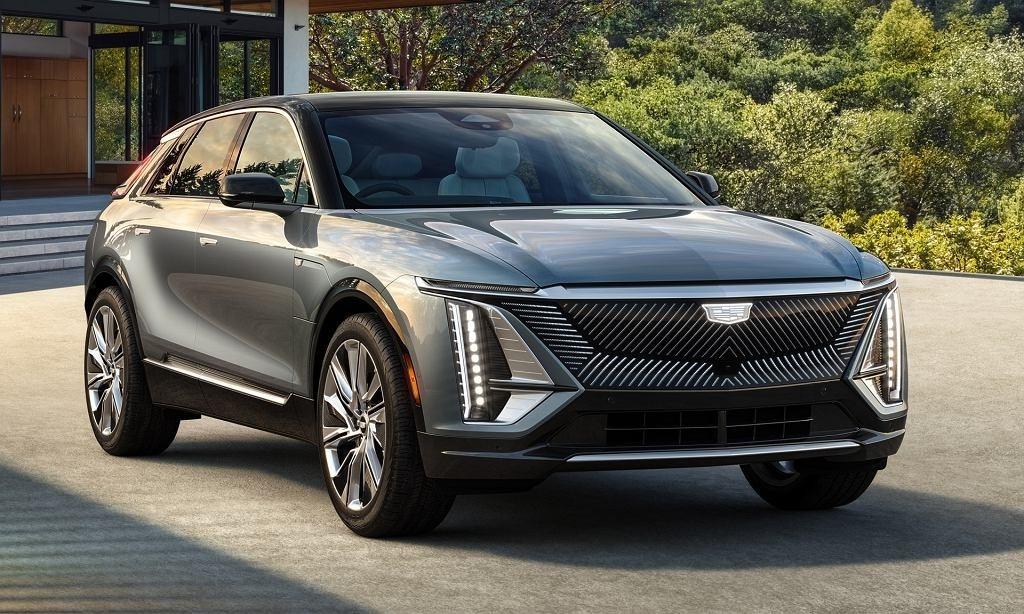 Cadillac Lyriq электромобиль